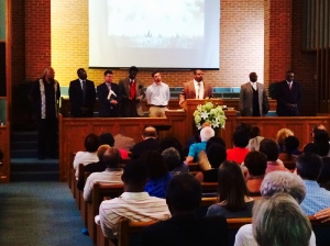 Service of Lament, Ferguson Heights Church of Christ, 31 August 2014